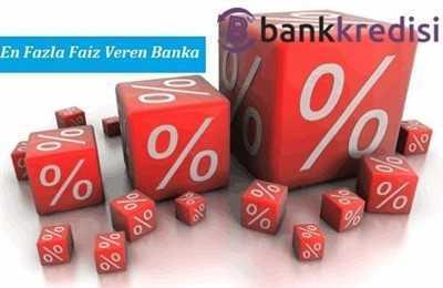 En Fazla Faiz Veren Banka Hangisi?