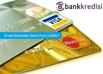 Kredi Kartından Para Çekme