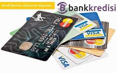 Kredi Kartını İnternet Alışverişine Kapama