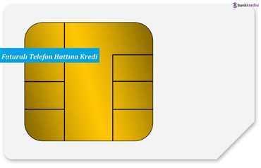 Faturalı Telefon Hattına Kredi
