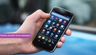 Telefon Kredisi Veren Bankalar
