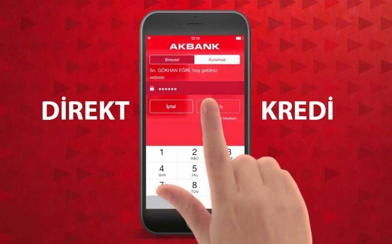 Akbank Mobil İle Hızlı Kredi